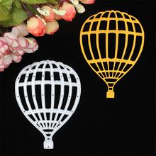 Hot Air Balloon metal die cutting dies scrapbooking embossing folder suit for cutting machine(China)