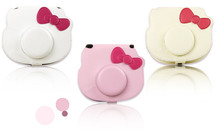 for Fujifilm Instax Mini Hello Kitty Instant Film Camera Case Bag With Soft PU Leather Material(China)