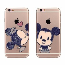 Nice Cartoon Pattern Phone Case For Apple iPhone 5 5s SE 6 6s 7 Plus Soft TPU Silicone Clear Funda Phone Back Covers Case Fundas