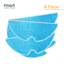 Mop Cloths of FMART Robot Vacuum Cleaner For YZ-U1S or YZ-V2 ( 5 piece)(China)
