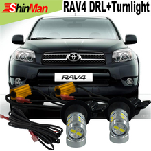 2X  Samsung Chip 20W T20 7440 WY21W LED For T.O.Y.O.T.A RAV4 2000-2015 Daytime Running Lights DRL &Front Turn Signals All In One
