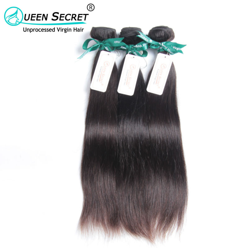 Queen Secret hair full cuticle hold Free shipping 6A no processed Eurasian virgin straight 5pcs a lot 100% Eurasian hair weave<br><br>Aliexpress