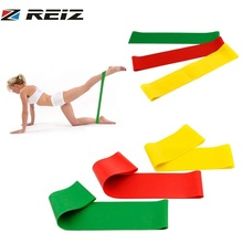 Buy REIZ Resistance Band Natural Latex Tension Elastic Yoga Crossfit Strength Pilates Workout Fitness Equipment Training Excercise for $1.27 in AliExpress store