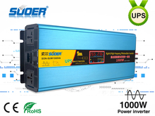 Suoer high frequency PV UPS inverter 24V 220V 1000W power inverter With 15A Charger 20A MPPT controller(SON-SUW1500VA)