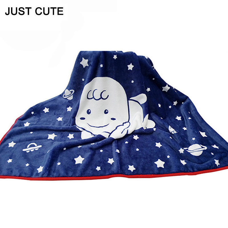 70*100cm Winter Flannel Baby Blanket Newborn Swaddle Towel Flannel Baby Girls Boys Bedding Fashion Infant Wrap Chunky Blanket