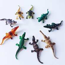 sale~9Pcs/crocodile/doll house//miniatures/lovely cute/fairy garden gnome/moss terrarium decor/crafts/bonsai/s016