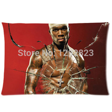 Comfortable Flannel 50 Cent Custom Zippered New Arrival Pillow Case 20x30 (one side) PC-864(China)
