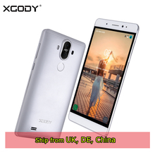 XGODY Y22 Smartphone 6.0 Inch 1GB RAM 16GB ROM Quad Core Android 5.1 Dual Sim 8.0MP 3G Unlocked Cell Phones GPS WiFi Telefon(China)