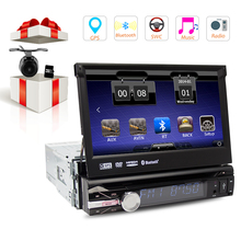 1 DIN Car DVD Player 7Inch HD Car Video Player GPS WiFi Handfree Multimedia Player In-dash Car GPS NAVI Plyers 1-DIN Instal(China)
