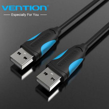 Vention High Speed USB Data Cable USB to USB 2.0 Male to Male USB Extension Cable for Radiator Hard Disk Car MP3 Webcam Camera(China)