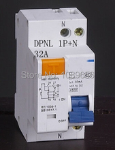 DPNL DZ30-32 1P+N 32A  Residual current Circuit breaker with over current protection RCBO