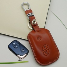 FOB Lexus Leather car key cover Key holder for Lexus IS250 ES240 GS LS RX270 and LX rx key wallets key case keychain accessories