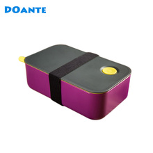 DOANTE Brand Top Quality Dinnerware Set Japan Style Double Layers Lunch Bento Box With Rope Food Storage Container(China)