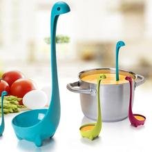Nessie Ladle Loch Ness Monster Spoon Cryptid Scottish Soup Lake Legendary Quirky(China)