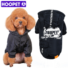HOOPET Fashion Dog Pet Warm Cotton Jacket Coat Hoodie Puppy Winter Clothes Pet Costume(China)