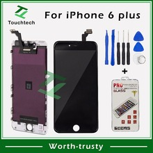 1PC OEM Tested One by One AAA+++ Quality For iPhone 6 Plus LCD Replacement Screen LCD with Digitizer Assembly Display Free Ship