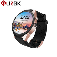 JRGK KW88 Bluetooth 4.0 Smart Watch Android 5.1 MTK6580 Wifi Smartwatch 3G GPS Watch Phone with 2.0MP Camera PK GT08 K88H DZ09(China)