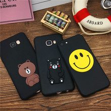 For Iphone X 8 6 6s 7 Samsung Galaxy S4 S5 S6 S7 Edge S8 Plus Note 8 3 4 5 A3 A5 A7 Case Cover Soft Silicone Brown Bear Kumamon(China)