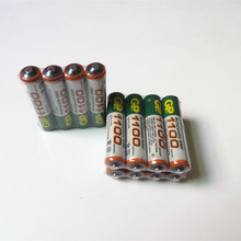12pcs/Lot High energy GP Ni-MH 1100mAh AAA 1.2V Rechargeable Battery for Free shipping