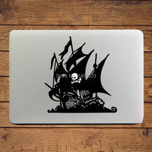 "The Pirate Bay Ship Laptop Sticker for 11"" 13"" Apple MacBook Decal Air/Pro/Retina Mac Cover skin Adesivo Pegatina para Notebook"