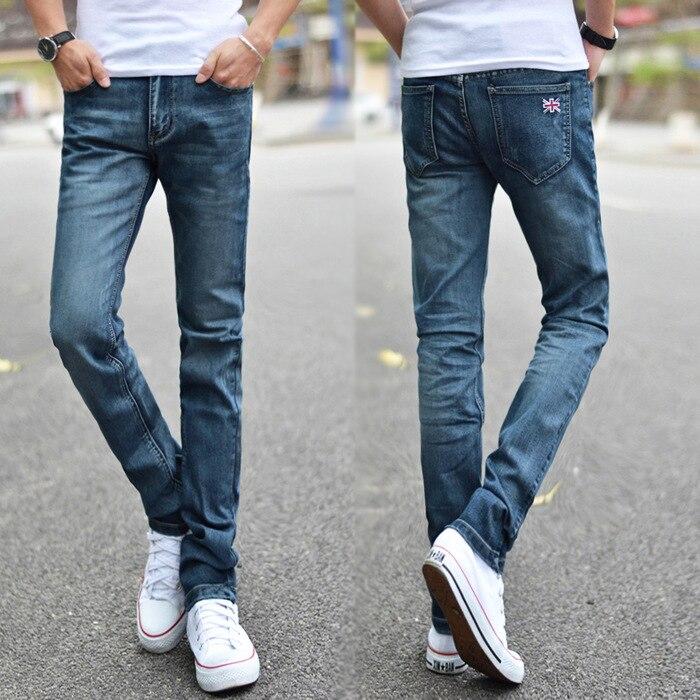 New 2017 famous brand men jeans male fashion Korean style casual Slim  pencil pants jeans men trousers jeans for men 40P029Одежда и ак�е��уары<br><br><br>Aliexpress