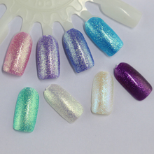 Long-lasting 10ml Cosmetic Gel Polish Soak Off UV Gel Nails Led 24 Color Crystal Gel Nail Polish 12Pcs/lot