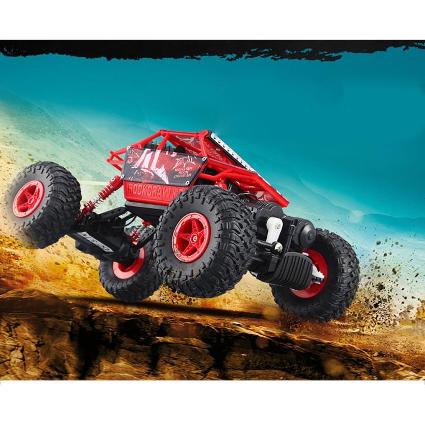 RC car toy 1/18 2.4G 4WD Radio Remote Control Model Cars Climbing RC Off-Road Rock Crawler   <br>