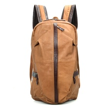 JMD Genuine Cow Leather Men's Laptop Backpack For Student School Extra Large Backpacks 7340