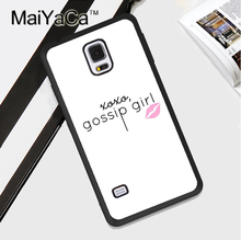 Gossip Girl design  Style Soft TPU Back Case Cover For Samsung Galaxy Note 3 4 5 S3 S4 S5 S6 S7 Edge S8 S8 Plus Phone Case
