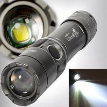 2017 NEW 3000Lm UltraFire CREE XML T6 LED Zoomable 18650 AAA Flashlight Torch Light Lamp A89