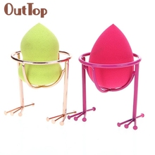 Makeup Beauty Stencil Egg Powder Puff Sponge Display Stand Drying Holder Rack 0323B5Down(China)
