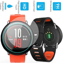 Premium 9H Tempered Glass Screen Protector Skin Film Guard for Xiaomi Huami Amazfit Sports Watch