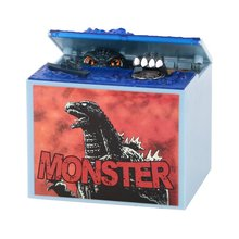 1pc New Godzilla Movie Musical Monster Moving Electronic Coin Saving Money Piggy Bank Box Money Box