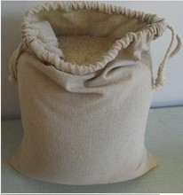 "Cotton Linen Packaging Storage Bags 30x40cm(12""x16"") Tea Coffee Nut Food Jewelry Box Drawstring Gift Pouch(China)"