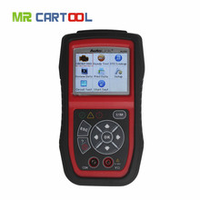 Professional Autel Auto Link Car Scanner Tools AL439 Scanner & Color Screen OBDII Read & Clean Fault codes Car Diagnostic Tools