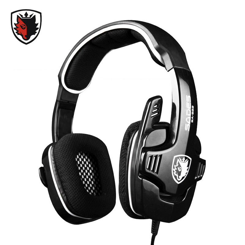 SADES Gaming Headphone for XBOX 360 Surround Sound Stereo for PS3 Headset Gamer with Microphone for Computer Gamer Video Game<br><br>Aliexpress