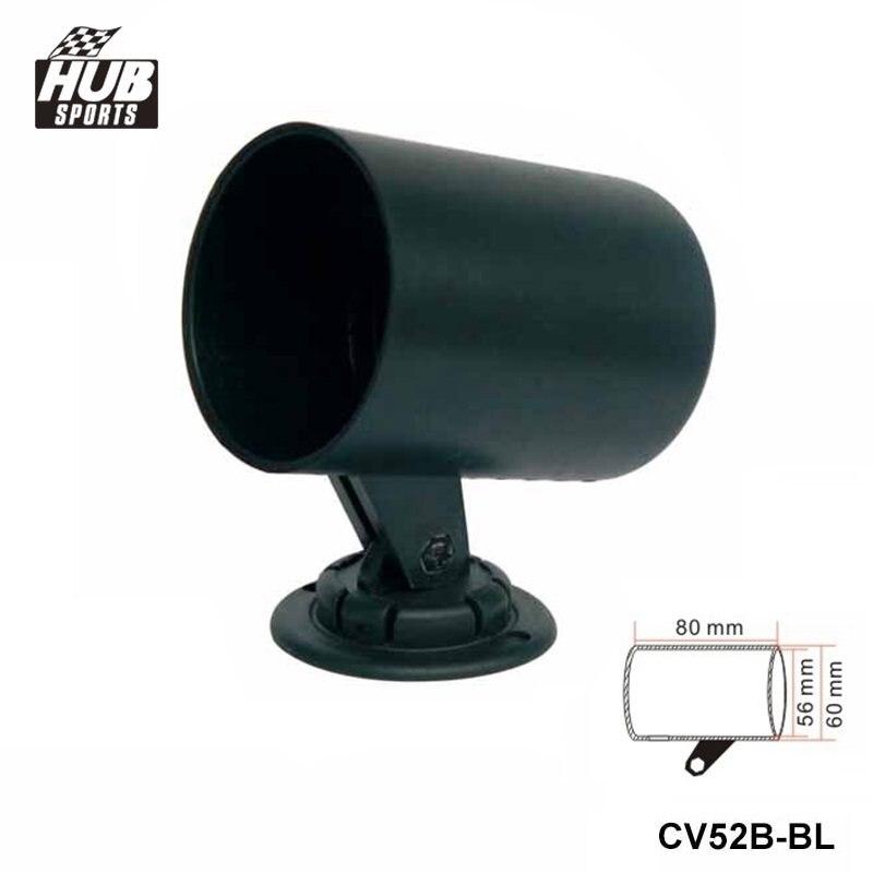 Hubsports - 1 GAUGE TRIPLE GAUGE PANEL 52MM HOLDER COVER black For Toyota MR2 MK2 Turbo Rev3-5 HU-CV52B-BK