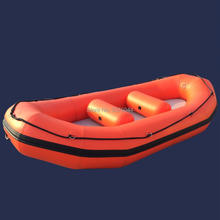 GTP330 Factory Direct Sale Inflatable Boat Raft boat Self Bailing Whitewater River Raft(China)
