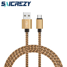 Type C USB Data Cable fast Charger wire for samsung s8 lg G6 huawei P10 for Xiaomi mi5 6 meizu mx6 OnePlus 5 Nubia z11 z17 mini(China)
