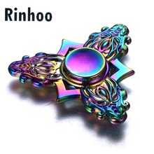 Game of Throne Metal Rainbow Dragon Head Fidget Spinner Tri Finger Hand Spinning Top Spinner Toy Kids metal toy Stress Relief