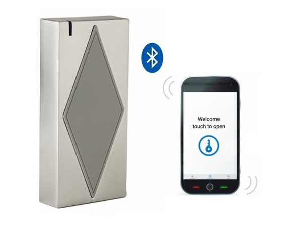S5-Bluetooth Free Shipping Metal Case And Anti-vandal Bluetooth &amp; MF Access Control With Doormaster App<br>