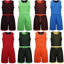 Double-sides Wearing Ultra-light Breathable Basketball Jersey Sport Jerseys Training Jersey Gym Jerseys Reversible