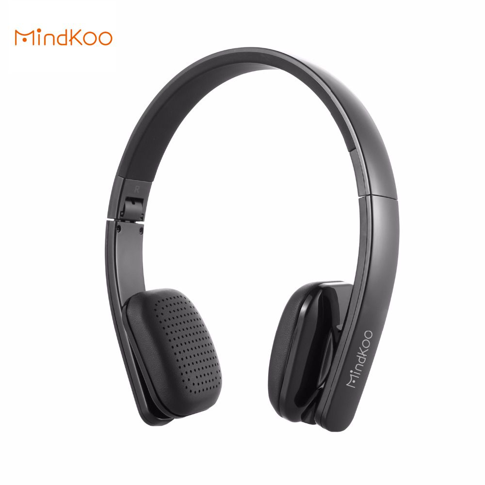 Mindkoo H-004 Wireless Headphones Portable Hifi Stereo Bass Headset Headband Earphone for Phones Computers Portable Devices<br><br>Aliexpress