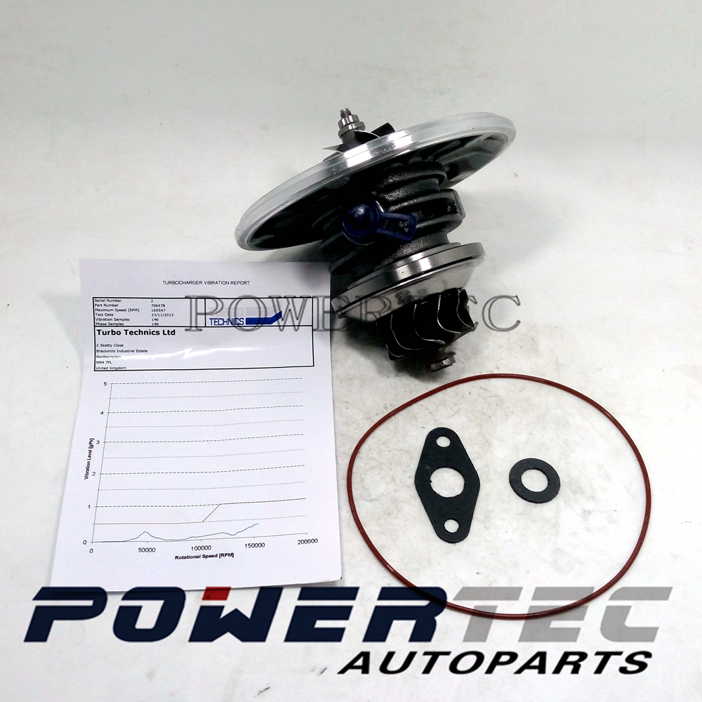 GT1546S 6M349G438AB 6M349G438AC 706976 turbocharger core cartridge RE6M349G438AC CHRA for Peugeot 307 / 406 / Patner  2.0 HDI<br><br>Aliexpress