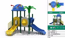Exported to Russia Quality Warranted Cold Resistant  Playground Set for Children W0828-1