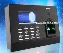 Cheap fingerprint time attendance with printer function HJ699 optional card reader suitable for office school factory ect