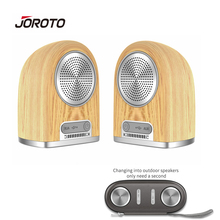 JOROTO BS60 Bluetooth Speaker Portable Multifunction Dual Wireless Speakers Mini Subwoofer Magnetic Suction Outdoor Speaker 4in1(China)