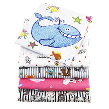 David accessories 50*145cm Cat animals patchwork 100%cotton fabric for Tissue Kid Bedding home textile for Sewing Tilda,1Yc786