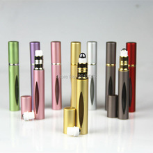 10ml Amazing travel perfume atomizer roll-on refillable perfume bottle easy used aluminum mini scent bottle J-015