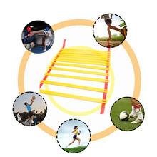 Professional 4M Portable Sport Soccer Speed Training Ladder Durable Sports Ladder Fitness Equipment Free Shipping(China)